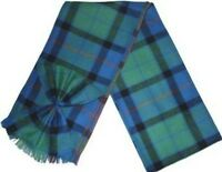 Scottish 100% Wool Tartan Ladies Mini Sash with Rosette - Flower of Scotland