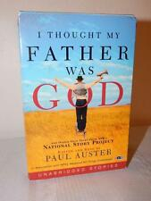 I THOUGHT MY FATHER WAS GOD Paul Auster Audiobook 6 Cassettes 9 Hours NEW