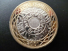 2001 £2 COIN PROOF CONDITION HOUSED IN A NEW CAPSULE, 2001 TWO POUNDS COIN.