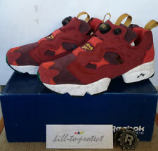 REEBOK x END CLOTHING INSTA PUMP FURY CLARET Sz US8 UK7 RED AAPE Saucony Burger