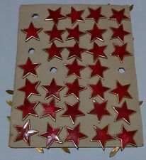 31 Soviet Bulgarian Communist Red Stars WW2 1940-50 vintage