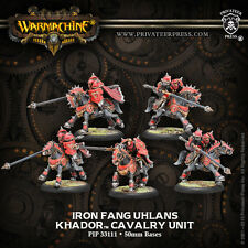 Warmachine BNIB Khador Iron Fang Uhlans (5) METAL 33111