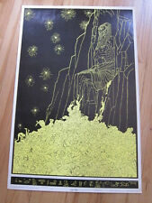 Last Hope Celestial arts black light poster 1969 Wallace Smith Hippie Psych