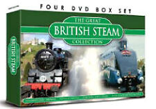 GREAT BRITISH STEAM COLLECTION - DVD - REGION 2 UK