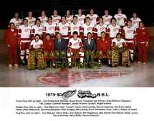 1980 DETROIT RED WINGS TEAM PHOTO 8X10