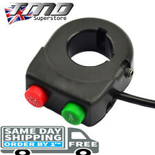 2 Function Motorcycle Handlebar Headlight Head Light On Off Horn Switch 22mm Bar