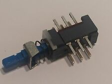 ALPS NON LATCHING MOMENTARY PUSH SWITCH 2PDT PCB MOUNT                      blb6