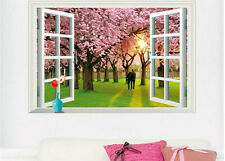 Wall Sticker beautiful scenery art window design decals A_FYGA_E