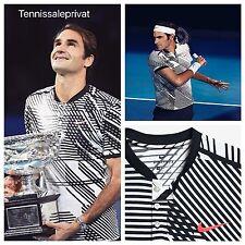 Roger federer nike 18 title Australia Open 2017 camisa polo m Nadal