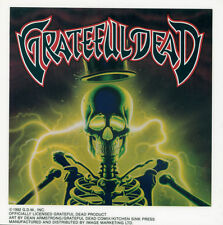 GRATEFUL DEAD - SKELETON - STICKER/DECAL - BRAND NEW VINTAGE - MUSIC BAND 056