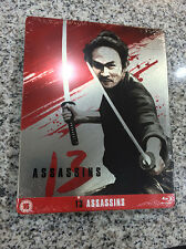 13 Assassins (2010) Blu-ray Steelbook | UK exclusive | NEW Sealed Takashi Miike