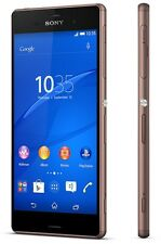 New Sony XPERIA Z3 D6653 QuadCore 20.7MP (FACTORY UNLOCKED) 16GB Copper Phone