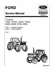FORD TRACTOR TW5 TW15 TW25 TW35 8530 8630 8730 8830 WORKSHOP SERVICE MANUAL