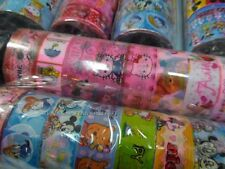 1-Tube=10 roll Patterned Hello Kitty Snoopy Snow White minnie Scotch Tape Craft