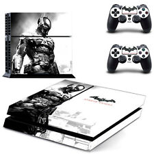 New Batman Arkham Knight Decal Cover Skin Sticker for  PS4  Console USA