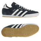 ADIDAS SAMBA BLUE SUEDE MENS TRAINERS SIZE UK 7,8,9,10,11,12