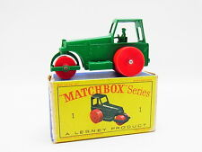 "Lot 33338 | MATCHBOX 1 D AVELING DIESEL ROAD ROLLER RULLO come nuovo ""D"" - BOX"