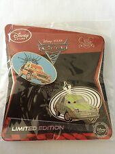 Grem & Acer Limited Edition LE 350 Disney Store Cars 2 2011 2 Pin Set Free Ship