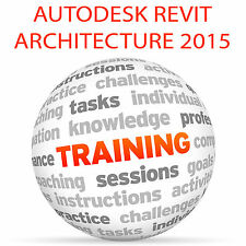 Autodesk Revit Architecture 2015-Video Tutorial DVD de entrenamiento