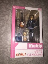 K-ON Yui Hirasawa Action Figure Mobip NIB Anime Seires Guitar