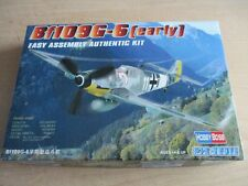 HOBBY BOSS Bf109G-6 (early) Easy Assembly Authentic Kit 1/72