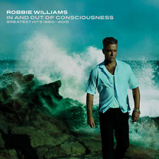 ROBBIE WILLIAMS (IN & OUT OF CONSCIOUNESS-GREATEST HITS 2CD SET SEALED+FREEPOST)