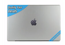 Black Carbon Fibre Apple Mac Book MacBook Pro MacBook Air Overlay Decal Sticker