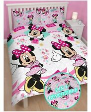 DISNEY MINNIE MOUSE fits QUEEN bed QUILT DOONA COVER SET NEW