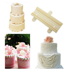 1X Pearls Beads Fondant Cutter Mold Decorating Cake Gum Sugarcraft Mould Tools