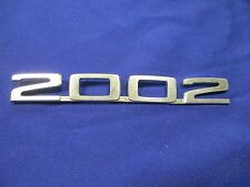 1973 BMW 2002 Rear 2002 Badge