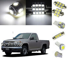 8PCS White Led Interior Light Kit Package for Chevy Colorado