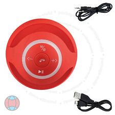 New Red Mini Speaker Bluetooth Wireless Hand-Free For PC Laptop Mobile DCUK