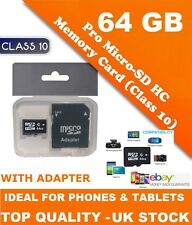 64 GB SD CARD FOR SAMSUNG GALAXY NOTE 2 NOTE 3 NOTE 4, 8.0, 10 - FAST DISPATCH