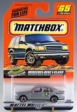 Matchbox MB 65 Mercedes-Benz E-Class Silver Gray Mint On Card 1999