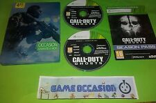 CALL OF DUTY GHOSTS XBOX 360 MICROSOFT PAL