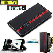 Premium Customised Stylish Wallet Flip Flap Cover Case For HUAWEI HONOR 5X