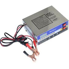 Car Motorcycle 10A 12V/24V Intelligent Pulse Lead Acid Battery Charger Universal