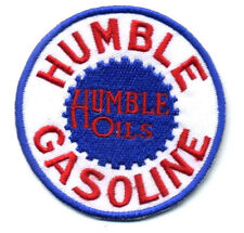 humble oil patch badge gasoline service station hot rod drag race mechanic
