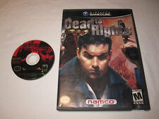 Dead to Rights (Nintendo GameCube) Game in Case Vr Nice!