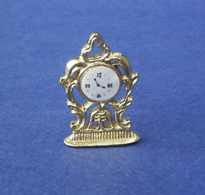 Miniature Dollhouse Clock 1:12 Scale New