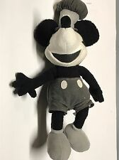 Disney Store STEAMBOAT WILLIE Mickey Mouse Stuffed Plush NWT