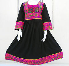 Kuchi Afghan Banjara Tribal Boho Hippie Style Brand New Ethnic Dress ND-159