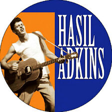 CHAPA/BADGE HASIL ADKINS . pin button cramps poison ivy rockabilly sun records