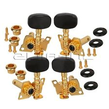 Golden Ukulele 4 String Guitar Tuning Pegs Machine Head Tuner 2R+2L
