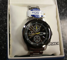 Seiko Men's SKS435 Analog Display Japanese Quartz Silver Watch