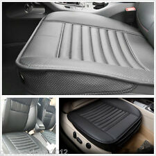 50*53cm Black PU Leather&Bamboo Charcoal Autos Seat Breathable Pad Pillow Cover