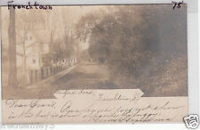 RPPC - Frenchtown, NJ - Street Scene - 1906