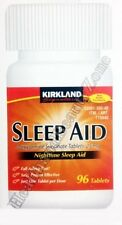 KIRKLAND Signature Nighttime SLEEP AID Doxylamine Succinate  25mg, 96 Tablets