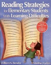 Reading Strategies for Elementary Students With Learning Difficulties by Bender