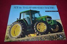 John Deere 6200 6300 6400 Tractor Dealer's Brochure AMIL8